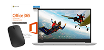 Ordinateur portable LENOVO Ideapad 330S-15ARR + Office 365 Personnel + Souris sans fil MICROSOFT