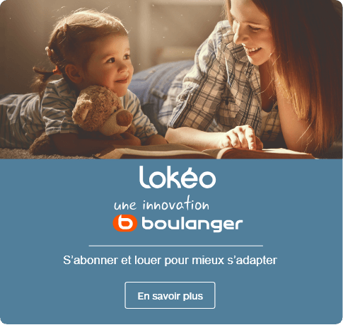 Lokéo un innovation Boulanger